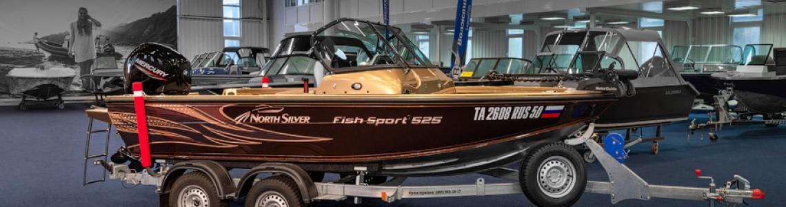 Обзор катера NorthSilver 525 Fish Sport 2021 модельного года.