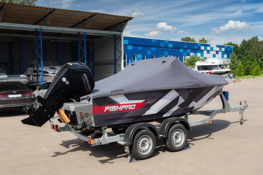 FISHPRO X3 с мотором Mercury F80