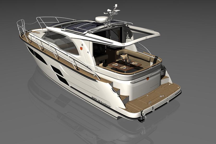 Моторная яхта Marex 330 SCANDINAVIA
