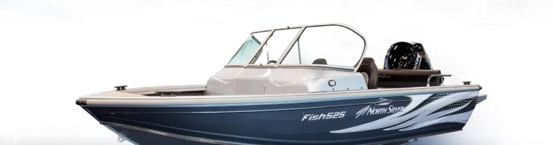 Обзор катера NorthSilver 525 Fish 2021 модельного года.