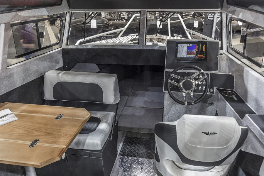 Volzhanka Voyager 800 Cabin