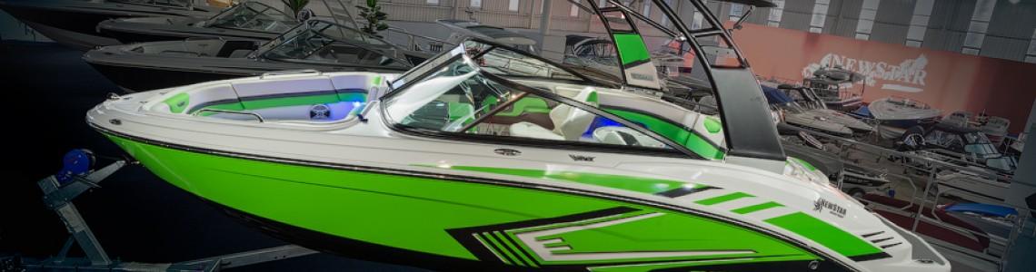 Обзор катера Chaparral 203 Vortex VRX Лайм