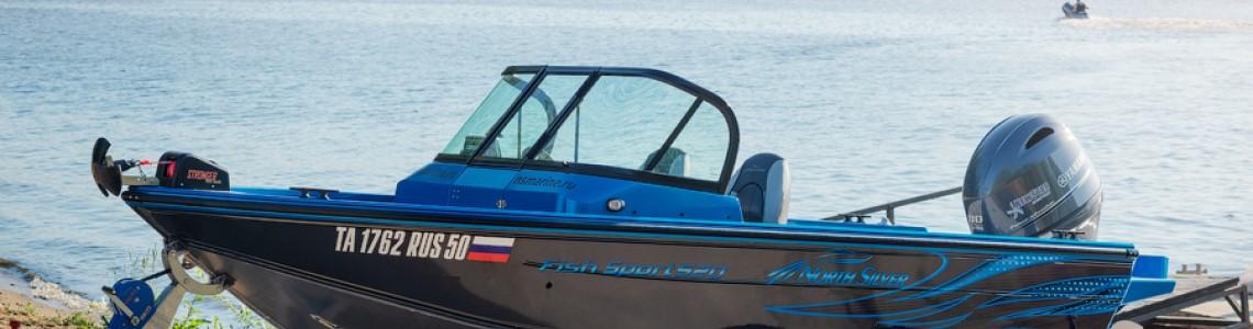 Обзор катера NorthSilver 520 Fish Sport