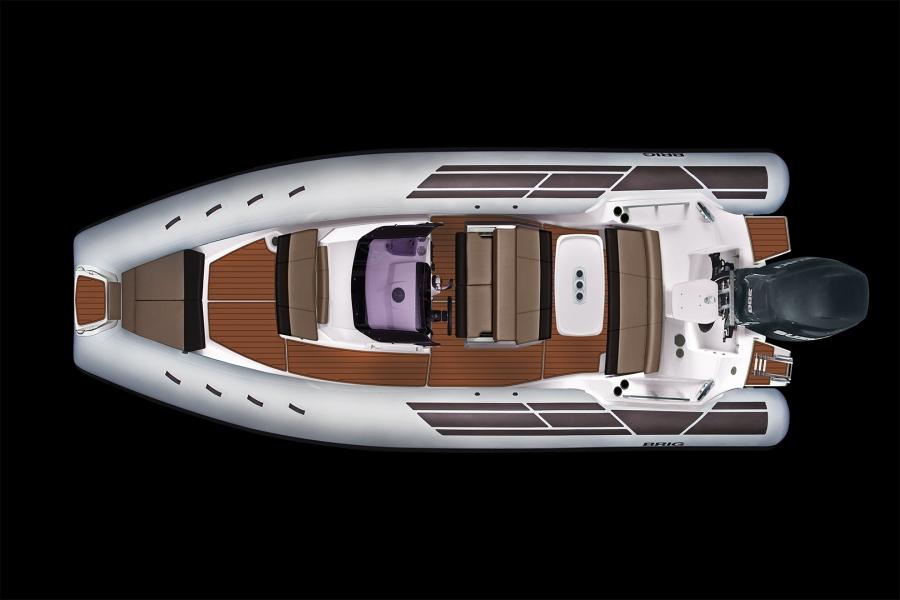Лодка BRIG Eagle E8