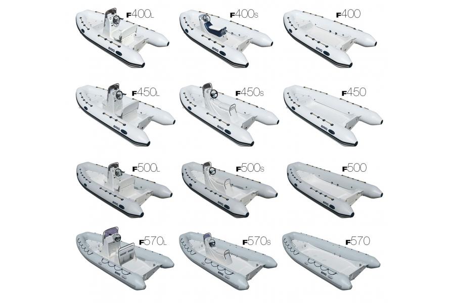 Лодка BRIG Falcon F450RUS