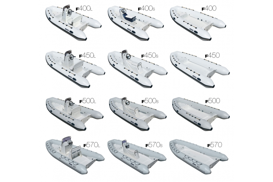 Лодка BRIG Falcon F450S